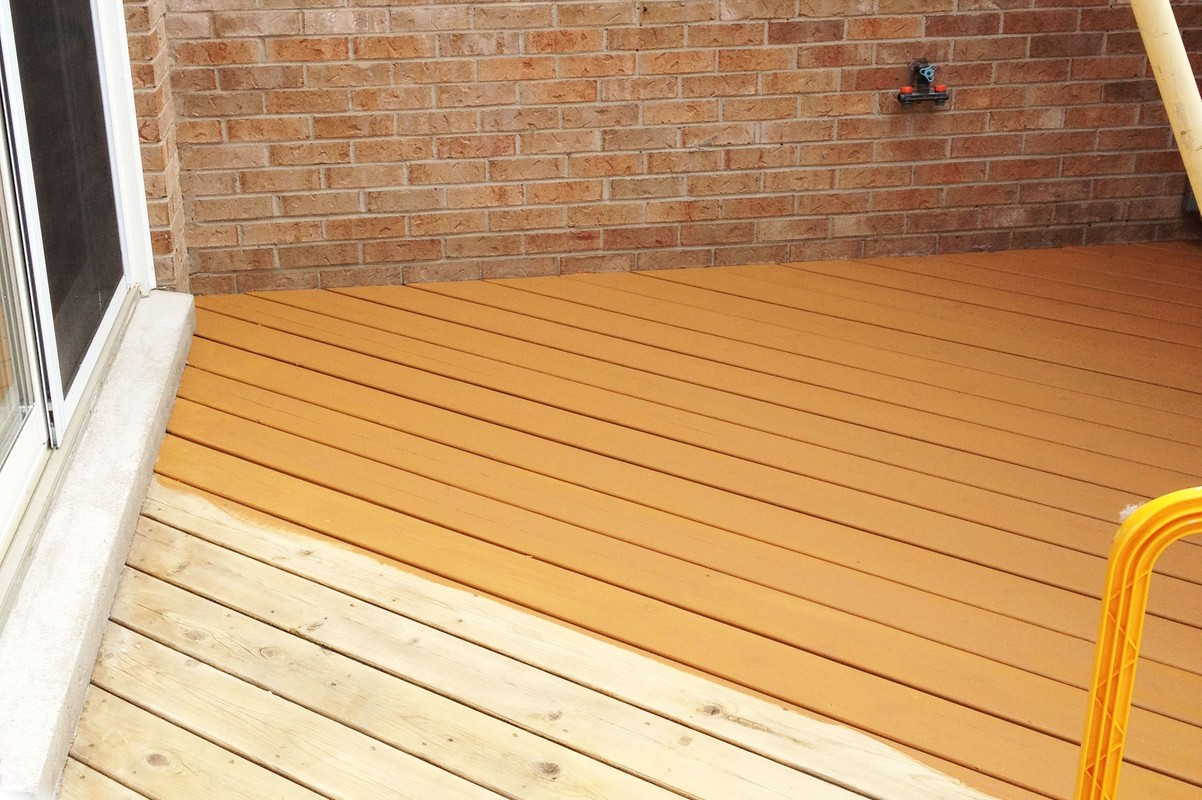Home Deck Clean & Stain